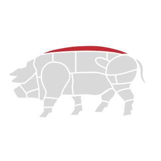 Schweinerücken 500g
