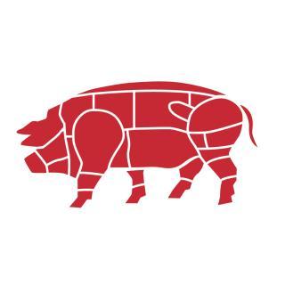 Schweinefleisch 5 kg Paket