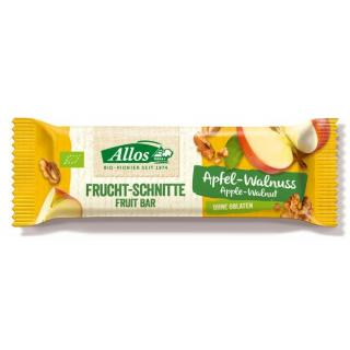 Apfel-Walnuß Fruchtschnitte 30gr Alo