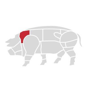 Schweinehals-Steak