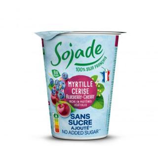 Sojade Heidelbeere-Kirsche ohne Zucker