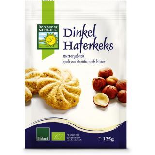 Dinkel Hafer Kekse 125g BOL