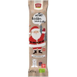 Nikolaus Lolly weiße Schokolade 15 g