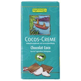 Schokolade Cocos Creme 100gr