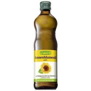 Sonnenblumenöl nativ 0,5l RAP