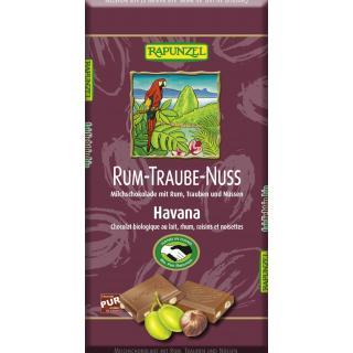 Schokolade Rum-Trauben-Nuß 100gr RAP