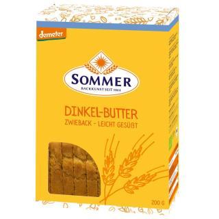 Dinkel Butter Zwieback 200gr   SOM
