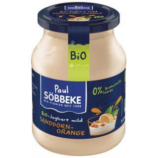 Joghurt Sanddorn-Orange 3,8% 500g SÖB