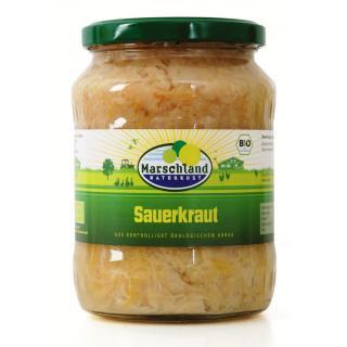 Sauerkraut i.Gl. 720ml MAR