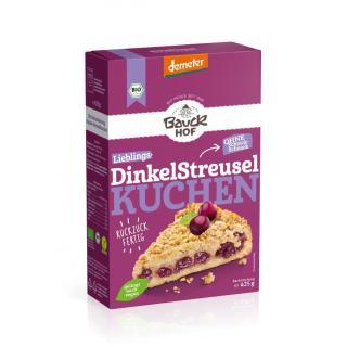 Dinkel-Streuselkuchen Backmischung 400gr