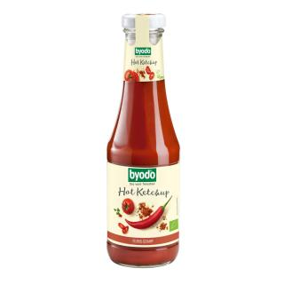 Hot Ketchup 500ml Byodo