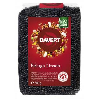 Beluga Linsen, schwarz  500 g  DAV