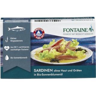 Sardinen o.Haut und Gräten FON