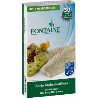 Makrelenfitet Senf-Dill Creme 200 g FON