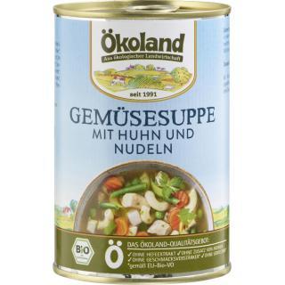 Gemüsesuppe m. Huhn 400g ÖKL