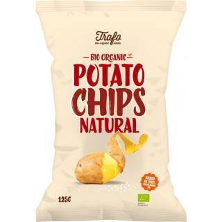 Kartoffelchips natural 125g Traf