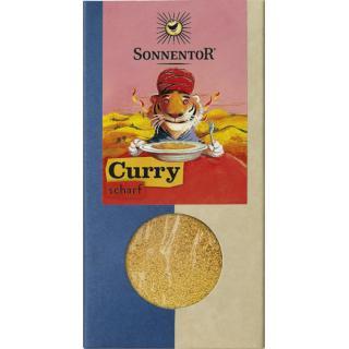Curry scharf gemahlen Tüte
