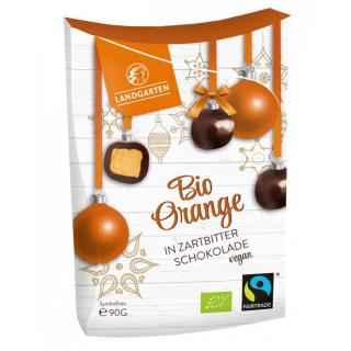 Orange in Zartbitter Schokolade